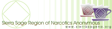 Sierra Sage Region of Narcotics Anonymous Website